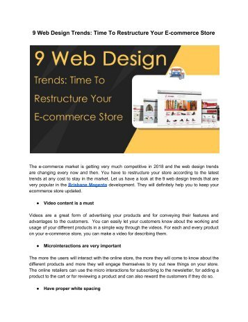 9 Web Design Trends_ Time To Restructure Your E-commerce Store