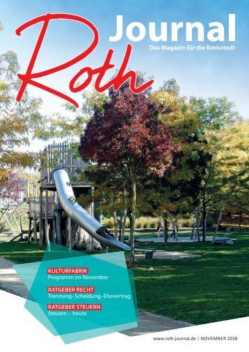 Roth Journal 2018-11
