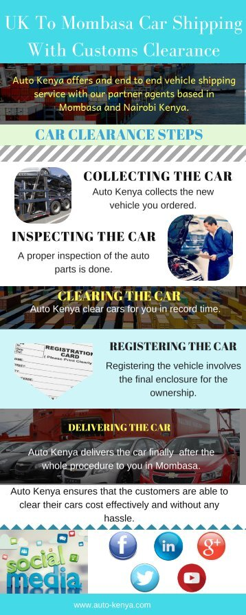 Shipping a Car to Mombasa | Shipping Methods - Auto Kenya