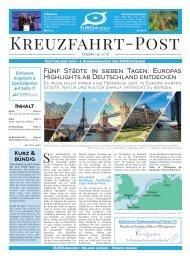 EURESAreisen Kreuzfahrt Post - Ausgabe 04 / 2018