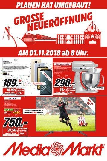 Media Markt Plauen - 01.11.2018