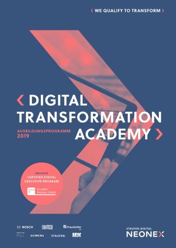 STAUFEN.NEONEX_Digital Transformation Academy 2019