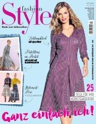 Zeitschrift: Fashion Style Nr. 10/2018 - Blick ins Heft