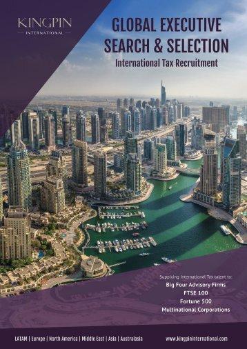 Kingpin International - Corporate Brochure 2018 (Print)