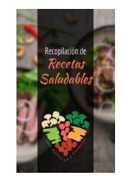 RECOPILACIÓN DE RECETAS SALUDABLES