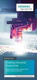 Machine Tools Finance Solutions
