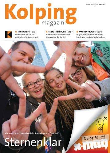 Kolpingmagazin 4-2018