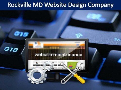 Rockville MD Website Design Company