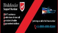 Dial +1-888-688-8264 Official Bitdefender Antivirus Customer Service Number Canada