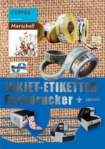 Katalog Inkjet Kaffee oPreis Marschall