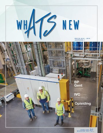 WhATS new Magazine: Editie 2018-2019, jaargang 1