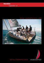 """Lenco"" ORC Dutch Champion! - Salona Yachts"