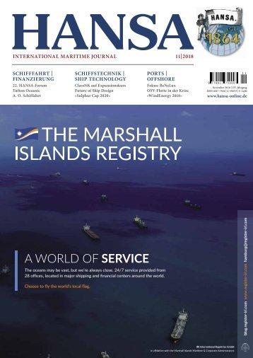 HANSA - International Maritime Journal, November 2018