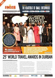 SMME NEWS - OCTOBER 2018 ISSUE