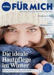 NIVEA FÜR MICH Magazin – Winter 2018