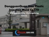 DongguanQuan Hao Plastic Injection Mold Co