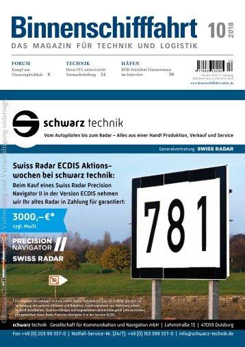 Binnenschifffahrt, Online-Ausgabe 10 | 2018