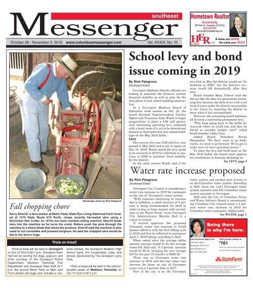 Southeast Messenger - October 28th, 2018