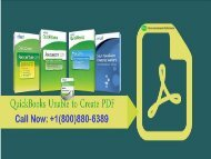 Few Easy Steps to Fix Error QuickBooks Unable to create PDF