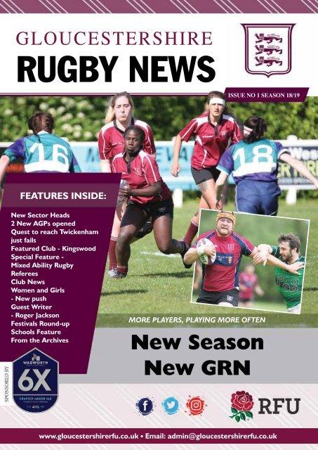 GRFU Issue 1 2018