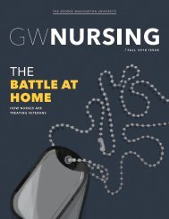 GW Nursing Magazine Fall 2018