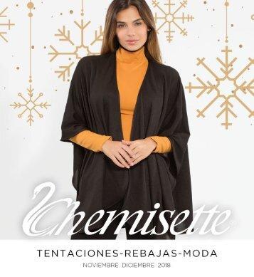 Chemisette Tentaciones Noviembre Diciembre 2018
