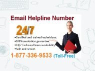 Contact Now Email Helpline Number 1-877-336-9533