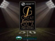 Great Futures Gala Program