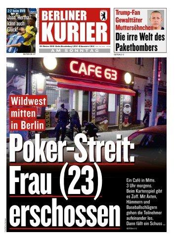 Berliner Kurier 28.10.2018