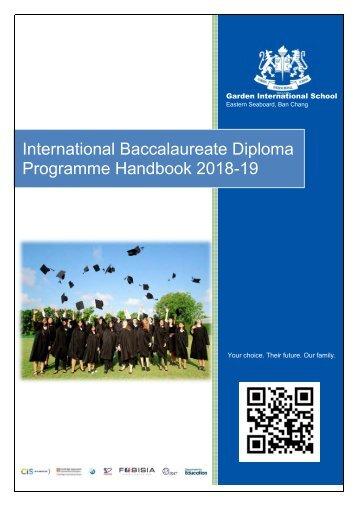 GIS IB Handbook 2018-19