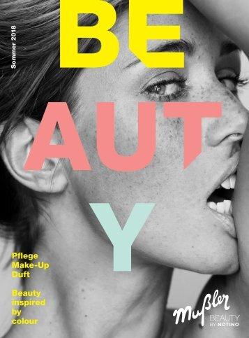 Mußler Beauty inspired by colour // Sommer 2018