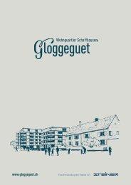 Verkaufsdokumentation Gloggeguet, 8200 SChaffhausen