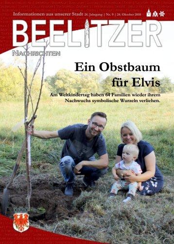 Beelitzer Nachrichten - Oktober 2018