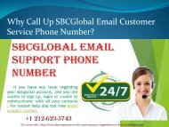 Best SBCGlobal Email Customer Service Number in USA
