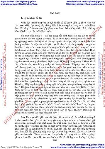 LUYỆN TẬP TÍNH CHẤT CỦA CACBON, SILIC VÀ CÁC HỢP CHẤT CỦA CHÚNG – HÓA HỌC 11(BCB) THEO HƯỚNG PHÁT TRIỂN NĂNG LỰC HỌC SINH