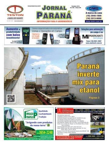 Jornal Paraná Novembro 2018