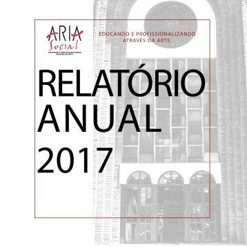 ARIA SOCIAL - RELATÓRIO 2017