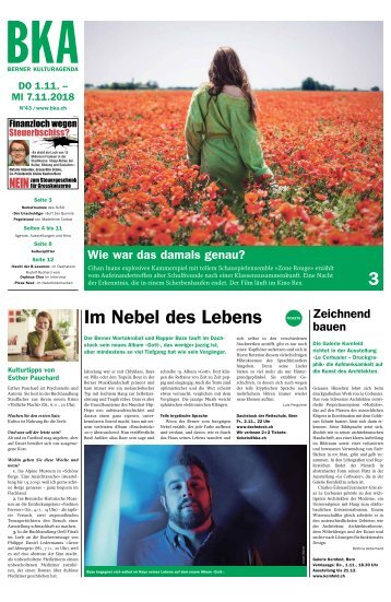 Berner Kulturagenda N°43