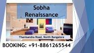 Sobha Renaissance Apartment At Thanisandra Road