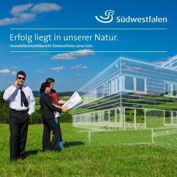Immobilienmarktbericht Südwestfalen - Kompetenzregion ...