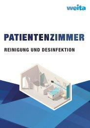 Patientenzimmer Reinigung und Desinfektion