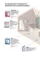 Chambres des patients nettoyage et désinfection - Page 2
