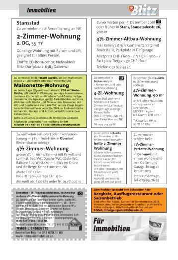 Immo KW44 / 02.11.18