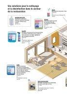 Gastronomie nettoyage et désinfection - Page 2