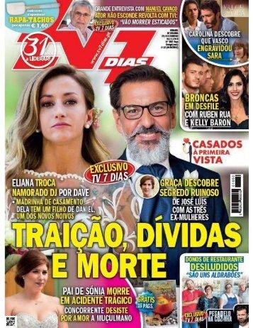 TV 7 Dias - Nº 1650 (29 Outubro a 03 Novembro 2018)