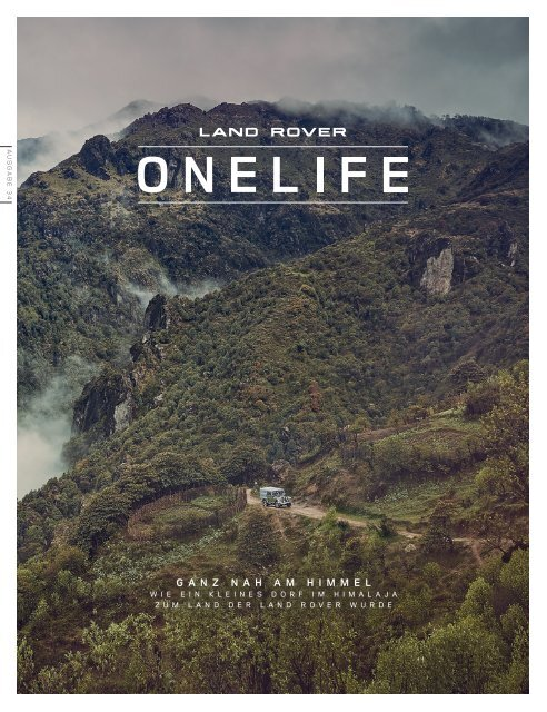 Land Rover ONELIFE 37 - DE