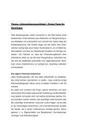 Tipps für Nachfolger - Gesellschaft zur Wirtschafts- und ...