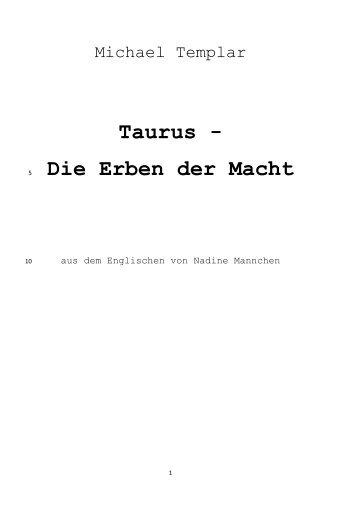 Taurus-1_Erben der Macht