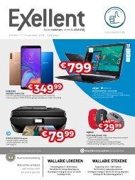 Exellent Folder November Promoties