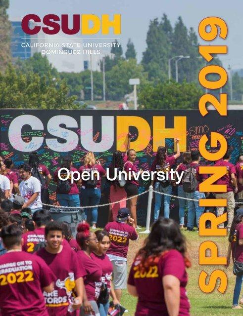 Spring 2019 Open University Schedule (Interactive)
